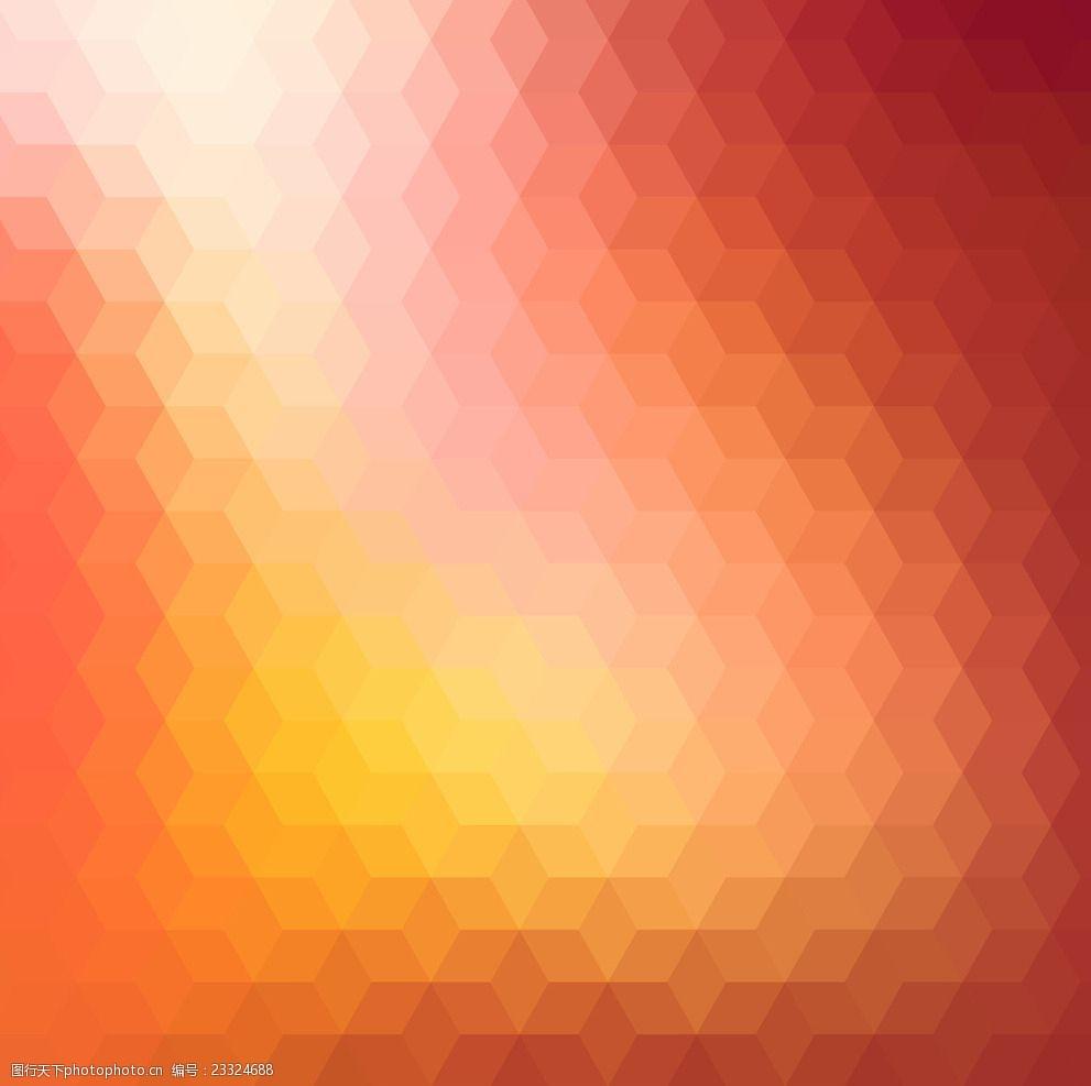 橙色調背景